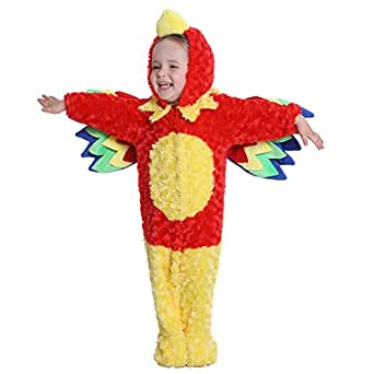 Baby Halloween Parrot Costume for Baby Boys and Girls - From 12 Months to 24 Months - Perfect Cosplay & Theme party Dress Up Outfit Gift