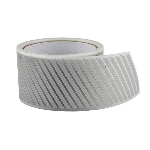 2 Safety Silver Reflective Iron on Fabric Clothing Tape Stripe Heat Transfer Vinyl Film M02 (2 x 10ft)