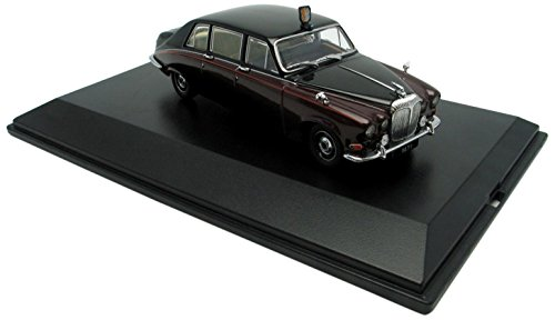 OXFORD 1/43 DS004 CLARET / BLACK QUEEN MOTHER DAIMLER DS420 B003BOLFAG