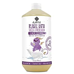 Naturally foaming, non-irritating, gentle bubble bath contains moisturizing shea butter to nourish and soften your baby's skin. Handmade with protective shea leaf and essential oils for relaxing, natural and clean fun. This bubble bath suppor...