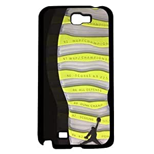 Designer Shoe Print Retro X 10's Venom Green Hard Snap on Phone Case (Note 2 II)