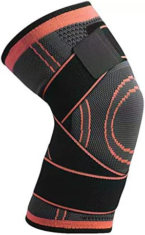 M-PENG 1pc Kniestütze Kniekompressionsmanschette Muskelkompression und Unterstützung beim Sport für Männer und Frauen
