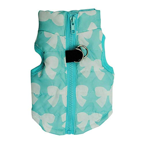 WAEEUSD Pet Cat Dog Soft Padded Vest Harness Small Dog Clothes Keep Warm Coats -