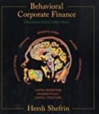 img - for Behavioral Corporate Finance (McGraw-Hill/Irwin Series in Finance, Insurance, and Real Est) book / textbook / text book