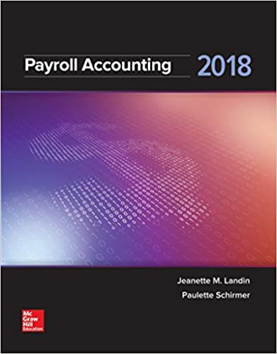 Amazon Com Payroll Accounting 2018 9781259742514 Jeanette Landin