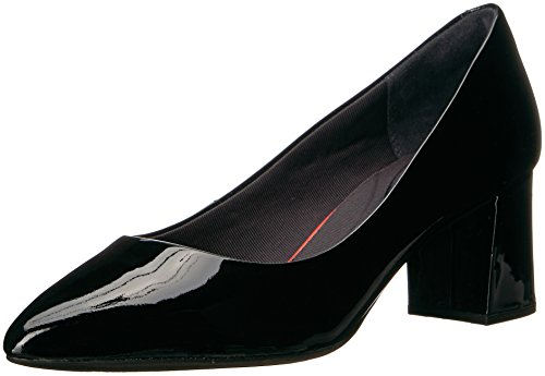 Rockport Women's Total Motion Salima Dress Pump, Black Patent, 6 M US by Rockport