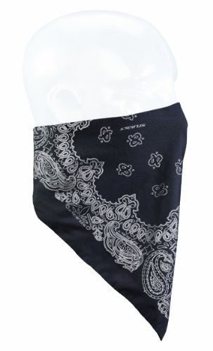 Seirus Innovation Snowdana, Unisex, Paisley, One Size (Fleece Lined Bandana)