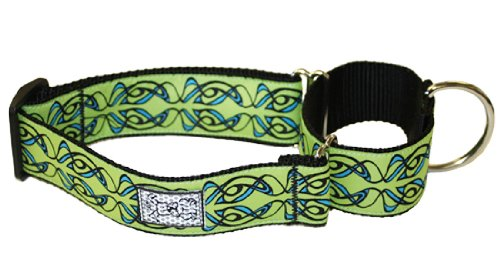 RC Pet Products 1-1/2-Inch All Webbing Martingale Dog Collar, Small, Sorbet Smoke, My Pet Supplies