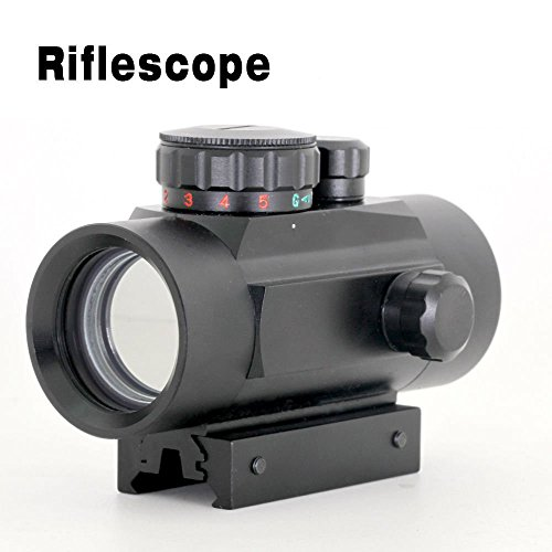 X-Aegis Rifle Scope 1x40RD Reflex Red Green Dot Sight Scope