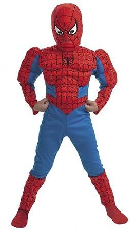 Cesar H947-013 - Disfraz de Spider-Man con músculos (Edad 12-14 ...