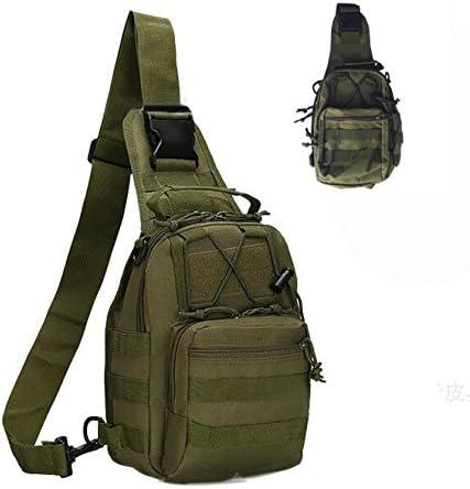 Tekon extérieur Tactique Sac à Dos Sport Militaire Lot épaule Sac à Dos pour Camping, Randonnée, Trekking, Rover Sling Pack Poitrine Pack Vert Militaire: Amazon.es: Deportes y aire libre