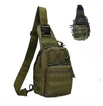 Tekon Correa de Tactical Assault Pequeño Ligero Sling Molle Mochila Militar Deporte Pack Bolsa de Hombro Pecho Rover, Verde: Amazon.es: Deportes y aire ...