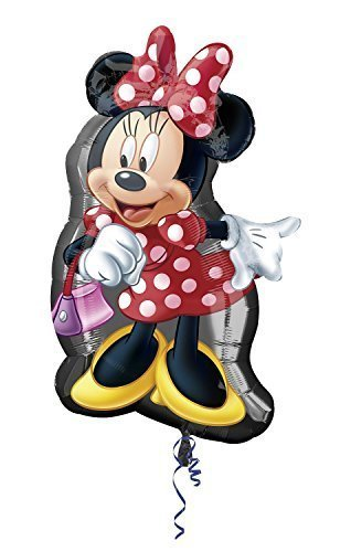 Mickey and Minnie Mouse Full Body Supershape Balloon Set by Party Supplies SG/_B012OCU3DA/_US