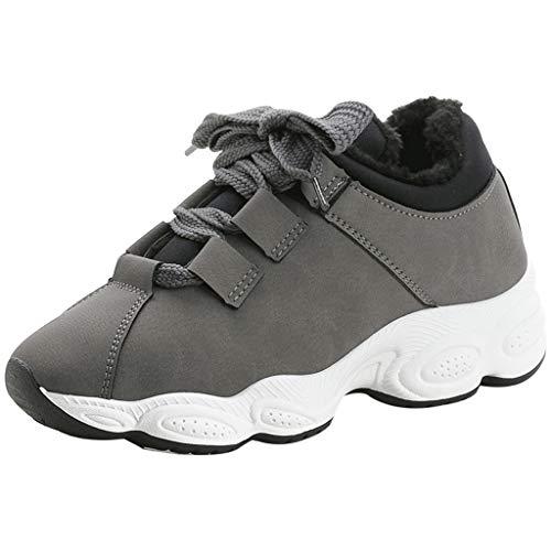 Casual Sport Femmes Exécution En Chaussures Gris Extérieur Mesh Cuir Honestyi Fond Baskets Doux Sneaker Femmes Respirant De Basket tissu Pour 7nncWx84B