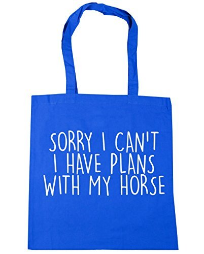 x38cm Gym Cornflower Shopping Tote I 42cm Bag Horse 10 Plans My litres Blue Can't With Sorry HippoWarehouse Have I Beach vxzZKwP