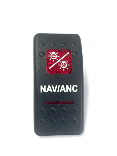 euro-rocker-switch-cover-with-text-black-with-red-lens-contura-ii-fits-carling-cole-hersee-blue-seas