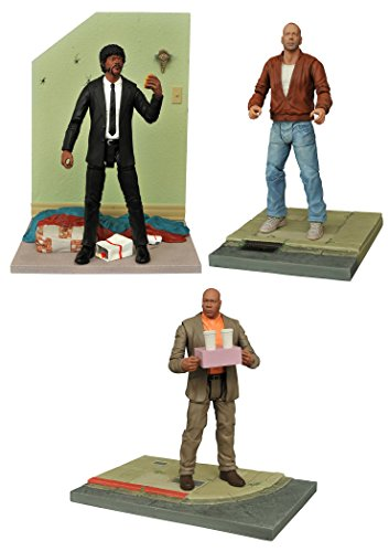 Pulp Fiction: Butch Coolidge, Jules Winnfield and Marsellus Wallace Figure Set of 3