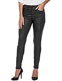 Guess Factory Women's Linea Coated High-Rise Skinny Jeans