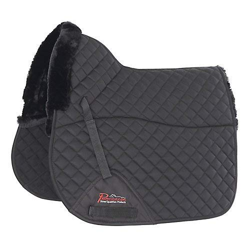 Full Shires Performance SupaFleece Dressage Saddlecloth Black