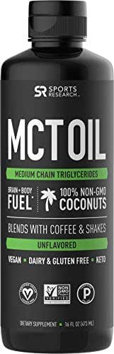 Vitamins & Supplements: Sports Research MCT Oil
