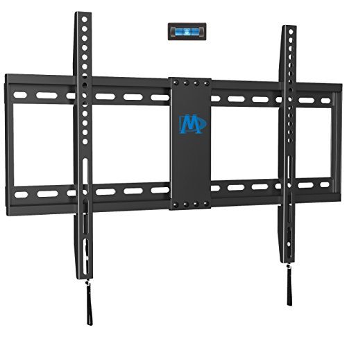 42 Fixed Tv - Mounting Dream MD2163-K Fixed TV Wall Mount Bracket for Most 42-70 Inch LED, LCD and Plasma TVs up to VESA 600 x 400mm and 132 LBS Loading Capacity, Low Profile
