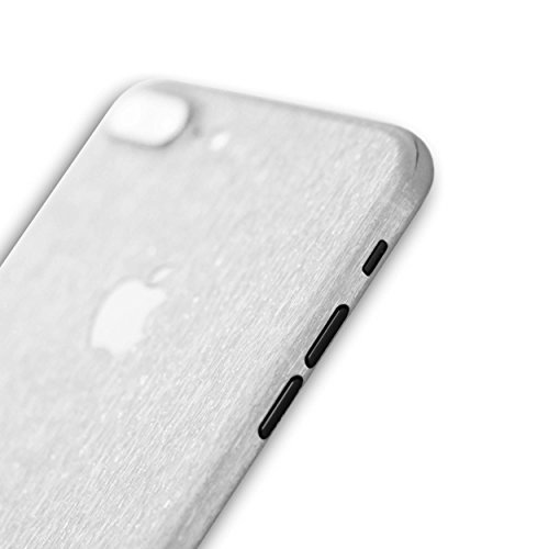 AppSkins Rückseite iPhone 7 PLUS Full Cover - Metal white