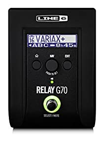 line 6 relay g70 wireless guitar stomp musical instruments. Black Bedroom Furniture Sets. Home Design Ideas