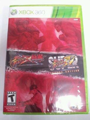 XBOX Street Fighter X Tekken + Super Street Fighter IV Combo Pack (Street Fighter X Tekken Special Edition Xbox 360)