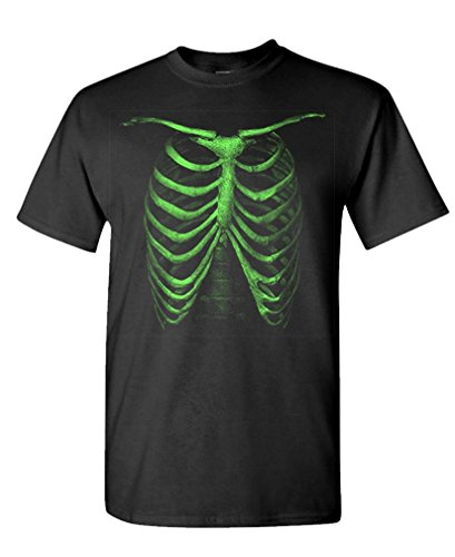 GLOW DARK CAGE ribcage halloween