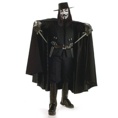 Super Deluxe V for Vendetta Adult Costume - X-Large