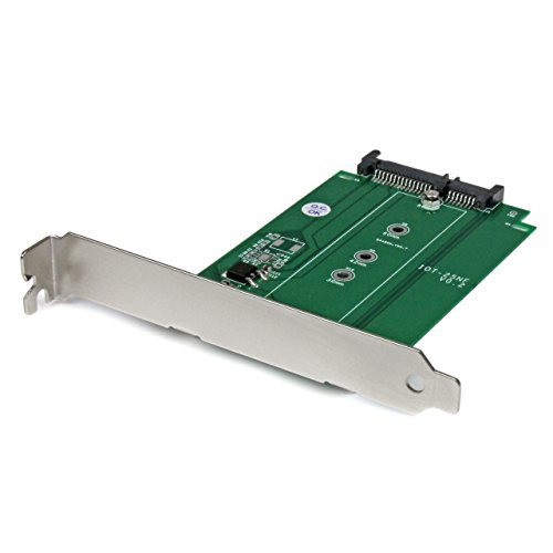M.2 to SATA Expansion Slot Mounted SSD Adapter - NGFF Solid State Drive to SATA Converter - PCI or PCI-express Slot - Pci Express Agp