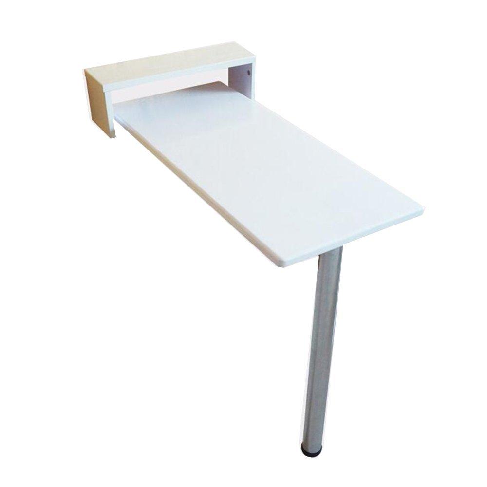 NAN 白い壁のテーブルコンピュータデスクのための折りたたみ可能なソリッドウッドのダイニングテーブルドミトリースナックバー8つのサイズが利用可能 ワークベンチ (サイズ さいず : 80*40*73cm) B07DZH16W9 80*40*73cm 80*40*73cm