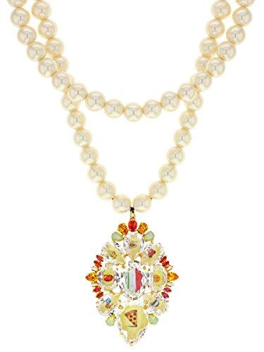Bijoux de Famille quoins médaillon Italie Collier de longueur 35cm