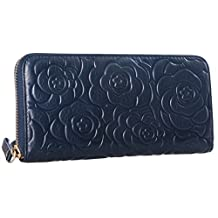 Heshe® Women's Soft Long Wallet Zipper Arround Clutch Card Holder Money Clip Purse Organizer
