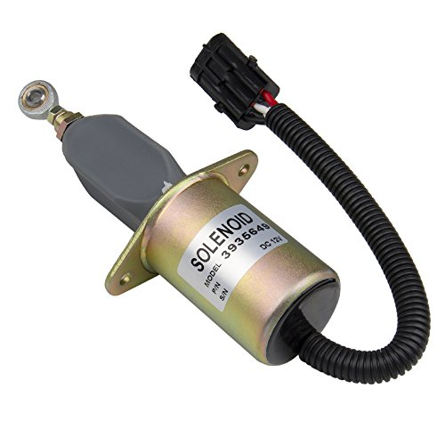 Big-Autoparts Diesel Fuel Shut Off Solenoid 3