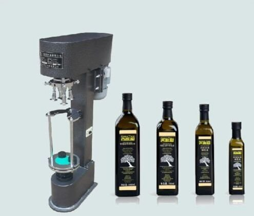 Metal cap Capping machine, Cap screwing Machine, Cap-tightener lid tightener for Winebottle,Olive oil bottle etc. by CGOLDENWALL