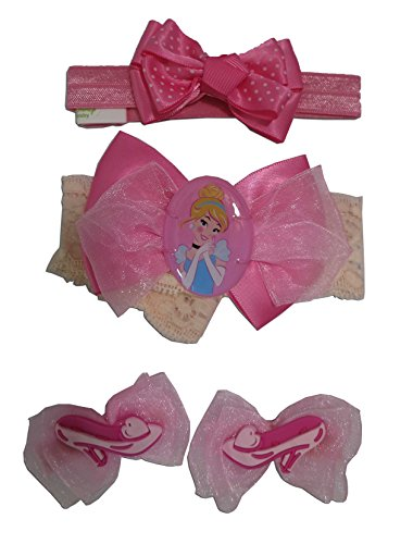 Disney Princess Cinderella Hair Set [5012] (pink) ()