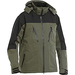 FLADEN Waterproof and Windproof Fishing Jacket Green and Black
