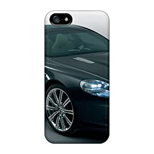Top Quality Case Cover For Iphone 5/5s Case With Nice Aston Martin Rapide Concept 5 Appearance
