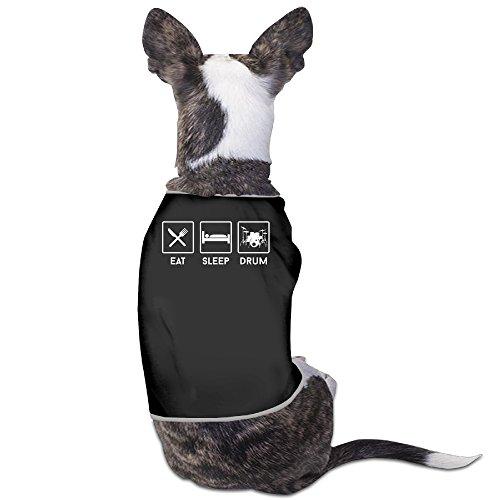 YRROWN Eat Sleep Drum Special Design Dog Sweater (Ninja Turtles Who Is Who)