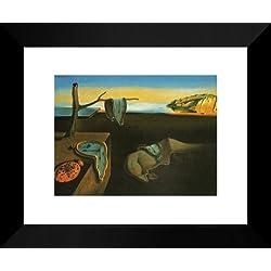 Melting Clocks 20x24 Framed Art Print by Salvador Dali