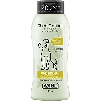 Wahl 100% Natural Pet Shed Control Shampoo #820005T