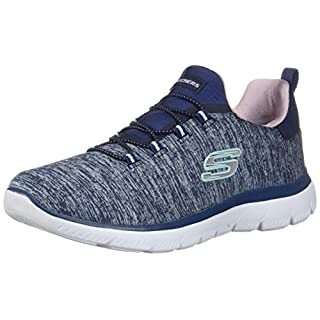 Skechers Women's Summits-Quick Getaway Sneaker, Nvpr, 7.5 M US