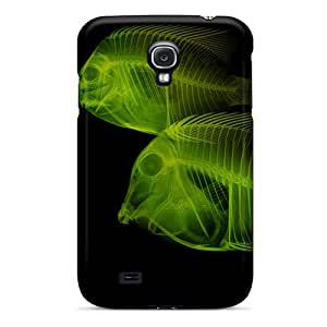 Special Design Back X Ray Android Fish Phone Case Cover For Galaxy S4