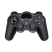 Baile 2.4G Wireless Game Controller Gamepad Joystick for Android TV Box Tablets PC GPD XD (black)