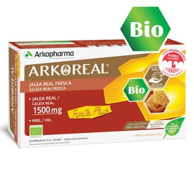 ARKOREAL JALEA REAL FRESCA FORTE PLUS 1500 mg 20 AMP