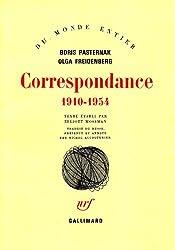 Correspondance: (1910-1954)