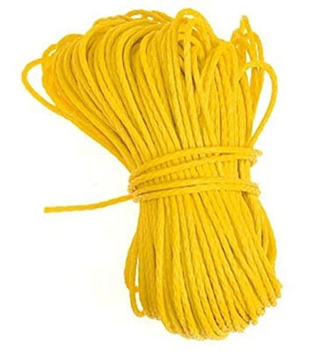 (Thorium Throw Weight Replacement Arborist Polyethylene Nylon Yellow Rope Line with length 150'/45m)