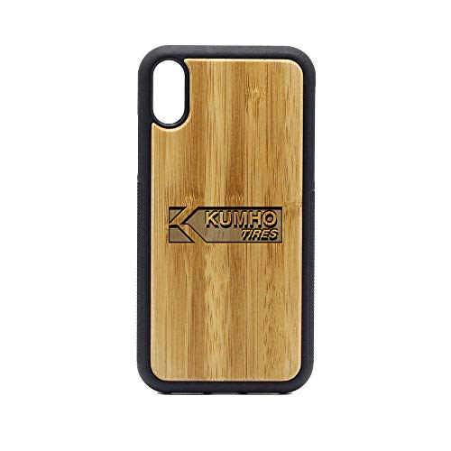 (KUMHO Tires - iPhone XR Case - Bamboo Premium Slim & Lightweight Traveler Wooden Protective Phone Case - Unique, Stylish & Eco-Friendly - Designed for iPhone XR)