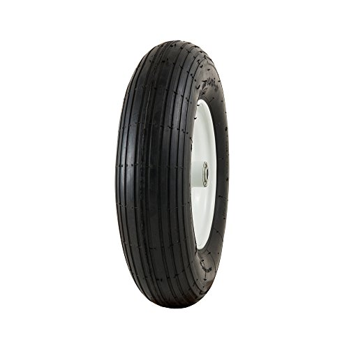 Marathon 4.80/4.00-8'' Pneumatic (Air-Filled) Tire on Wheel, 3'' Hub, 5/8'' Bearings by Marathon Industries